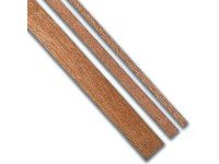 Sapele strip packet 0.6 x 4 mm, 25 pieces