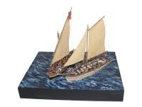 Disarmodel Diorama Naval Batalla del Nilo