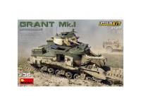 Tanque Grant Mk.I Interior Kit 1:35