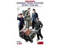 Figuras German Station Staff 30-40 1:35