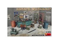 MiniArt Accesorios Garage Workshop 1:35