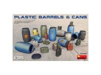 AccesoriosPlastic Barrels & Cans 1:35