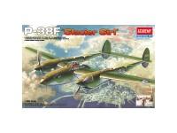 Avión P-38F Lighting Glacier Girl 1/48