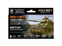 Set WWII British Armour & Infantry
