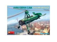 Avión Avro Cierva C30 A Civilian Service
