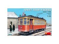 Miniart Soviet Tram X-Series. Early T.