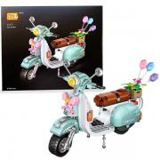 Moto Scooter Loz mini 673 piezas