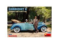 Coche Cabriolet B German Car Type 170V
