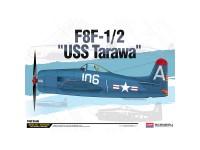 Academy Avión F8F-1/2 USS Tarawa LE 1/48