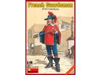 Figura French Guardsman. XVII c. 1/16