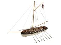 Disarmodel Lancha HMS Agamemnon C Nelson