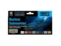 Set 8 M.A. Submarinos Nucleares