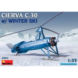 Avión Cierva C.30 with Winter Ski 1/35