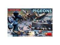 MiniArt Accesorios Pigeons 1/35