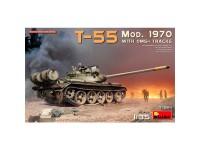 Acc T-55 Mod 70 w/OMSh Tracks 1/35