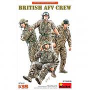 MiniArt Figuras British AFV Crew 1/35