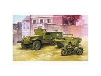 Vehículos M3 US Half Track & Amph. 1/72