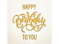 MiniArt Crafts Life Happy Birthday