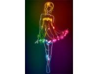 MiniArt Crafts Abstract Neon Fashion