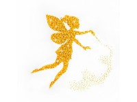 MiniArt Crafts Abstract Golden Fairy