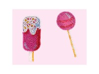 MiniArt Crafts P. Badges Lollipop. Ice Cream