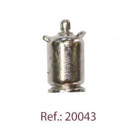 Disarmodel Bombona Butano Metal 17mm 2ud