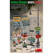 MiniArt Accesorios Road Signs WWII Italy