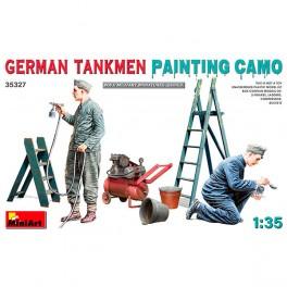 MiniArt Figuras German Tankmen. Paint Camo