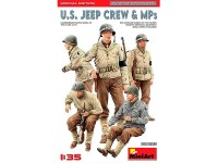MiniArt Fig US Jeep Crew & MPs. Sp Ed 1/35