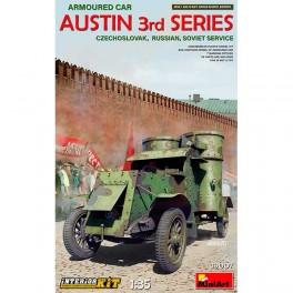 MA Austin Arm Car 3 Series Czechoslovak IK 1/35