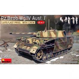 MA.Beob.Wg.IV Ausf. J Last Prod 2en1 Crew 1/35