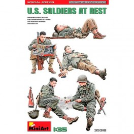 MiniArt Figuras US Soldiers at Rest. Sp Ed 1/35