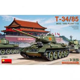 MiniArt T-34/85 Mod. 1945. Plant 112 1/35