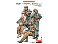 MiniArt Figuras IDF Tank Crew 1/35