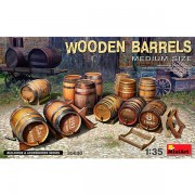 MiniArt Wooden Barrels. Medium Size 1/35