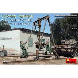 Germ men Gantry Crane  HL 120 Engine 1/35
