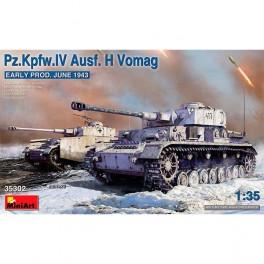 Pz.Kpfw.IV Ausf H Vomag E Prod 43 1/35