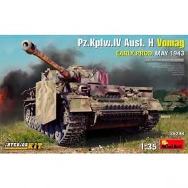 Pz.Kpfw.IV Ausf. H Vomag  E Prod 43 IK 1/35
