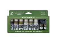 Set de 8 Model Color Building Set