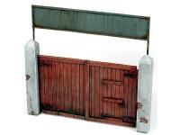 Vallejo Accesorios Portón madera 15x15cm