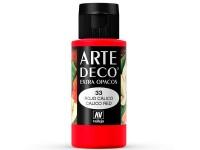 Arte Deco Matt Red Calic  60ml.