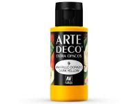 Arte Deco Mate Amarillo Dorado 60 ml.