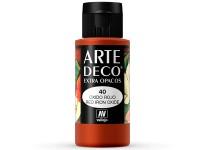 Arte Deco Mate Óxido Rojo 60ml.