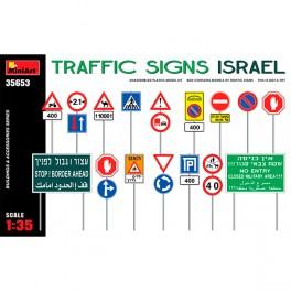 MiniArt Accesorios Traffic Signs. Israel 1/35