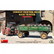 MiniArt German Tractor D8506 with Trailer 1/35