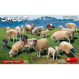 MiniArt Accesorios Sheep 1/35