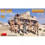 MiniArt M3 Lee Mid Prod. Sahara w/Crew 1/35