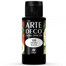 Arte Deco Mate Negro 60ml.