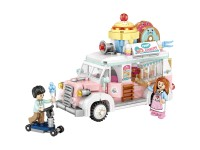 Dessert truck Van 582 pieces