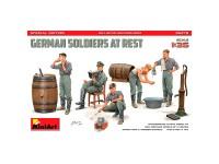 MiniArt German Soldiers at Rest Edición Especial 1/35